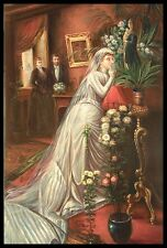"* 36""x24"" Oil Painting on Canvas, The Bride, Hand Painted"