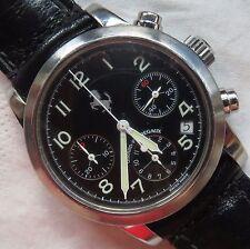 Girard Perregaux Ferrari Ref. 8020 chronograph mens wristwatch steel case