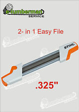 "GENUINE STIHL 2 in 1 Easy File Chainsaw Sharpening 4.8mm  For .325"" Chain"