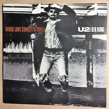 U2 With BB King 45 45 Blues Rock 1989 When Love Comes To Town Dancing Barefoot