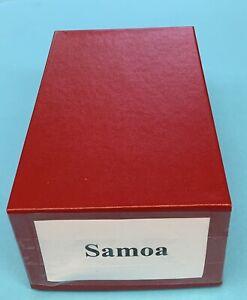 Samoa, 1886 -1988, Mint Dealer's Stock on 102 cards, between Scott #9d and #750