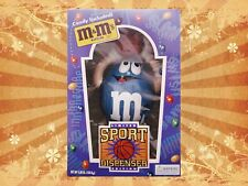 M&M's Sport Basketball Player Blue Peanut Candy Dispenser Limited Edition
