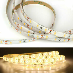 12V 5M Warm Cool White LED Flexible Wire Strip String Rope Waterproof IP65 Light