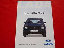 LADA Niva Prospektblatt Brochure Salessheet von 2003