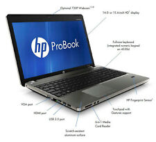 "HP PROBOOK 4530S 15.6"" WEBCAM CORE i3 2310M 4GB RAM 320GB HDD WIN7/LIBREOFFICE"
