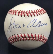Hank Aaron Braves Signed Official NL Baseball Autograph Auto JSA COA