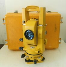 Topcon Gts 2 Theodolite Total Station Surveying Equipment With Case