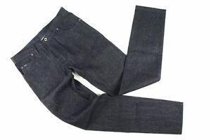 Tom Ford Jeans: 34 Dark denim blue, 5-pocket, cotton & 18k gold hardware