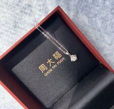 CHOW TAI FOCK Diamond Necklace