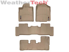 WeatherTech Floor Mats FloorLiner for Acura MDX- 1st/2nd/3rd Row - Tan