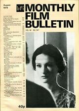 BFI Monthly Film Bulletin 547 - Isabelle Weingarten - August 1979
