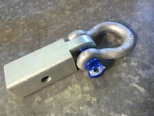 Rear 4x4 Recovery Tow point & Bow Shackle, Heavy Duty, Aussie Made