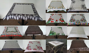 Amazing Square Tablecloths Table Runners Living Dining Room Kitchen various