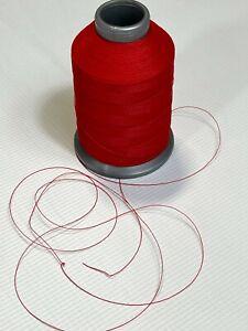 Phantom Red Nylon Sewing Thread One 4oz Spool T70 Bonded 1500 Yards B69 N63