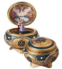 Anastasia - Alexandra & Nicholas Hinged Trinket Box by The San Francisco Music