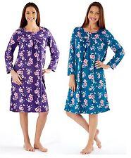 Fleece Long Sleeve Floral Lingerie & Nightwear for Women