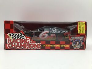 Racing Champions NASCAR 50th Anniversary Scale 1/24 Die Cast Replica #6 Eagle On