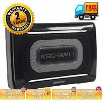 Kenwood KSC-SW11 under seat subwoofer 2 year warranty and free cable kit inc