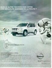 Publicité Advertising 029  2007   nouVeau Nissan X- trail