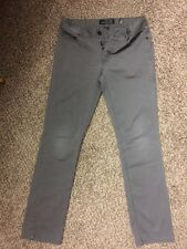 XXX RUDE SLIM STRAIGHT Gray  BUTTON FLY Jeans Size 30/32