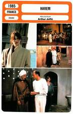 FICHE CINEMA : HAREM - Kinski,Kingsley,Joffé 1985