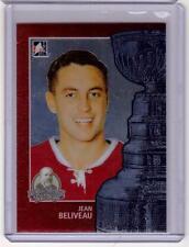 JEAN BELIVEAU 13/14 ITG Lord Stanley's Mug #9 Premium Metallic Card Canadiens