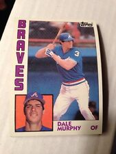5 1984 TOPPS Baseball #150 Dale Murphy Braves Vintage Collectible Cards