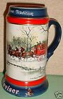 1990 Budweiser Beer Stein American Tradition GORGEOUS Free Ship to USA
