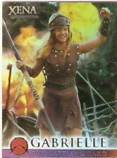 Xena Battling Bard G9 Season 4 and 5 Renee OConnor as Gabrielle insert card