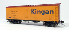 Kingan Inc Garx 37' Wood Meat Reefer By Rapido Trains Excellent Detail!