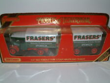 "FODEN STEAM LORRY AND TRAILER  "" FRASERS"" MATCHBOX MIB Y-27"