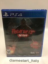FRIDAY THE 13TH THE GAME - SONY PS4 - NEW SEALED NTSC-USA VERSION REGION FREE