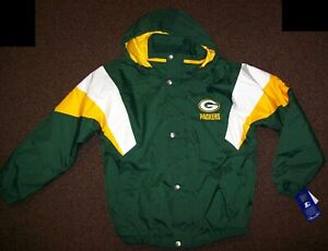 GREEN BAY PACKERS STARTER Hooded Jacket 2020 S, M, L, XL, 2X