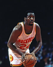 Houston Rockets MOSES MALONE Glossy 8x10 Photo NBA Basketball Print Poster