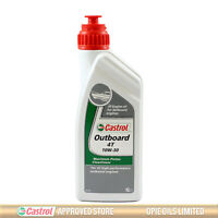 Castrol Outboard 4T Part Synthetic 10W-30 Engine Oil - 1 Litre 1L