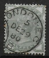 SG165.  1/2d.Pale Green. Very Fine CDS Used. Some Perf.Toning. Cat.£20. Ref:0351