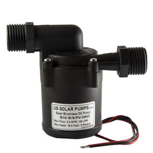 2 GPM - 24VDC Brushless Water Pump