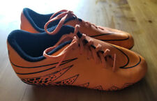 NIKE ATHLETIC SNEAKERS ORANGE WOMEN'S SIZE 4 1/2 - PREOWNED