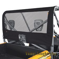 VINYL REAR WINDOW 2008-2009 2-PASSENGER KAWASAKI TERYX 750 FI & LE Back Panel