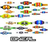 Oneal Crossbrille MX Motocross Enduro Downhill Brille verspiegelt klar