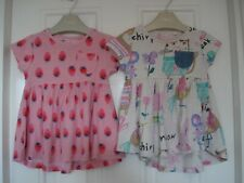 NEXT GIRLS 6 TO 9 MONTHS JERSEY DRESES 6 - 9