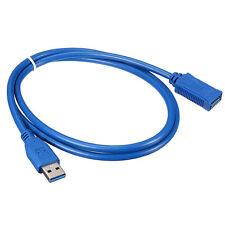 1M 3Ft USB 3.0 A Maschio Plug A Femmina Super Speed Prolunga Cavo Per PC Laptop