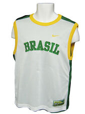 Nike Brasil Doble Capa Reversible Entrenamiento De Fútbol Camiseta Sin Mangas M