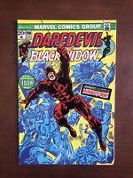 Daredevil #100 (1973) 7.5 VF Marvel Bronze Age Black Widow Key Issue Comic Book