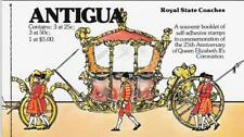 Antigua 1978 QEII Silver Jubilee $7.25 Complete Booklet, Sc #514 - ow867