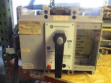 GE TPSS2602SG3E1, 200 Amp 3 Pole 600 Volt LSIG Circuit Breaker, EO/DO