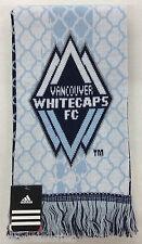 NWT MLS Vancouver Whitecaps FC Adidas Winter Knit Tassel Scarf NEW