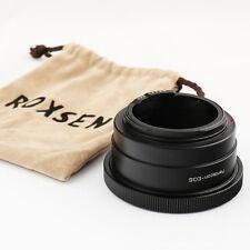 Advanced EMF AF confirm adapter Pentacon 6 Kiev 60 lens to Canon EOS 5D III 70D