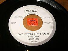 NANCY LOVE - LOVE LETTERS IN THE SAND - PROVE IT TO ME  / LISTEN - SOUL