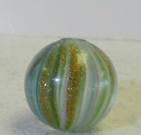 #11897m German Handmade Onionskin Lutz Marble.70 Inches